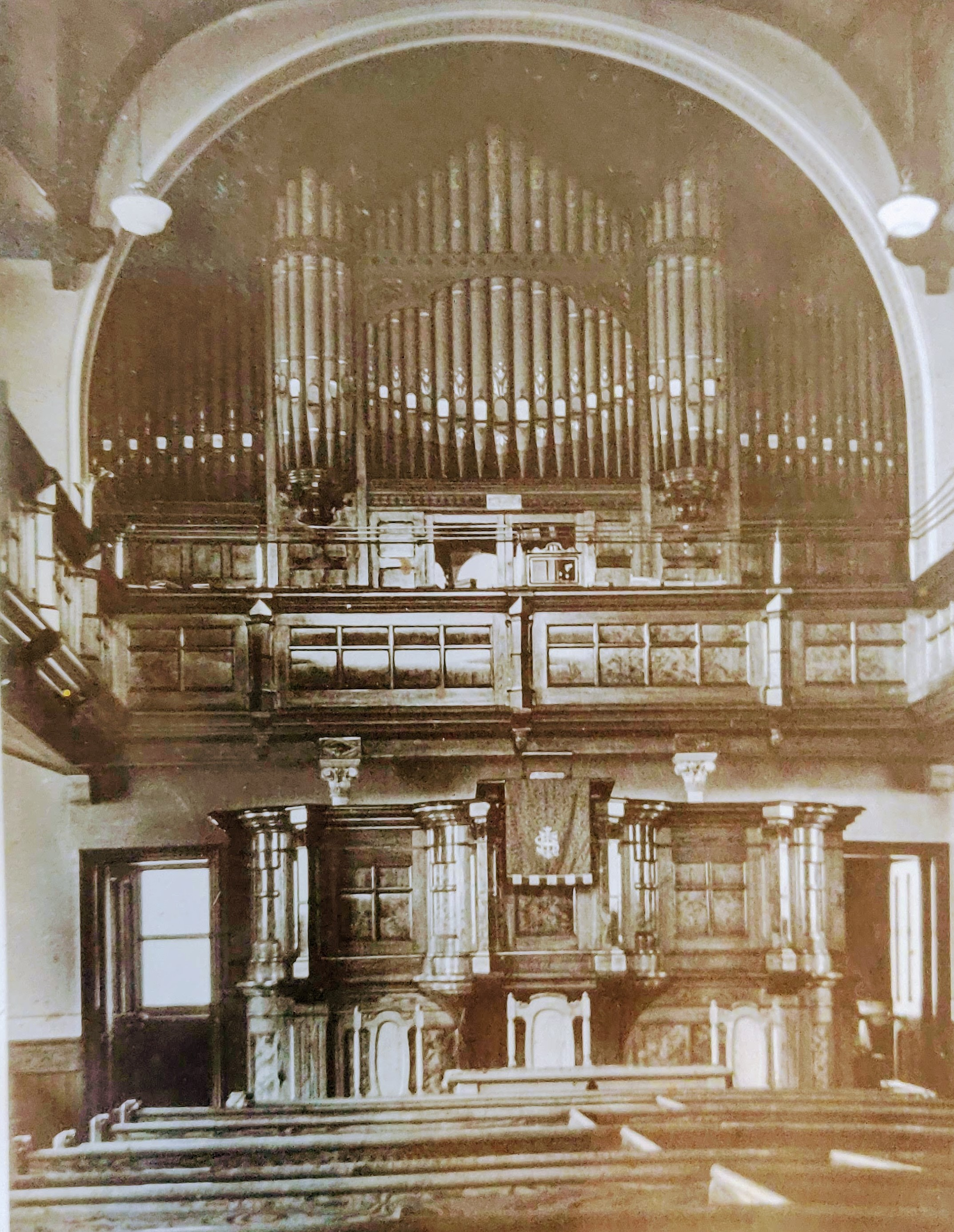 church and organ